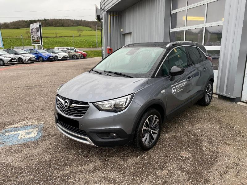photo de OPEL Crossland X 1.2 Turbo 110ch Design 120 ans BVA Euro 6d-T